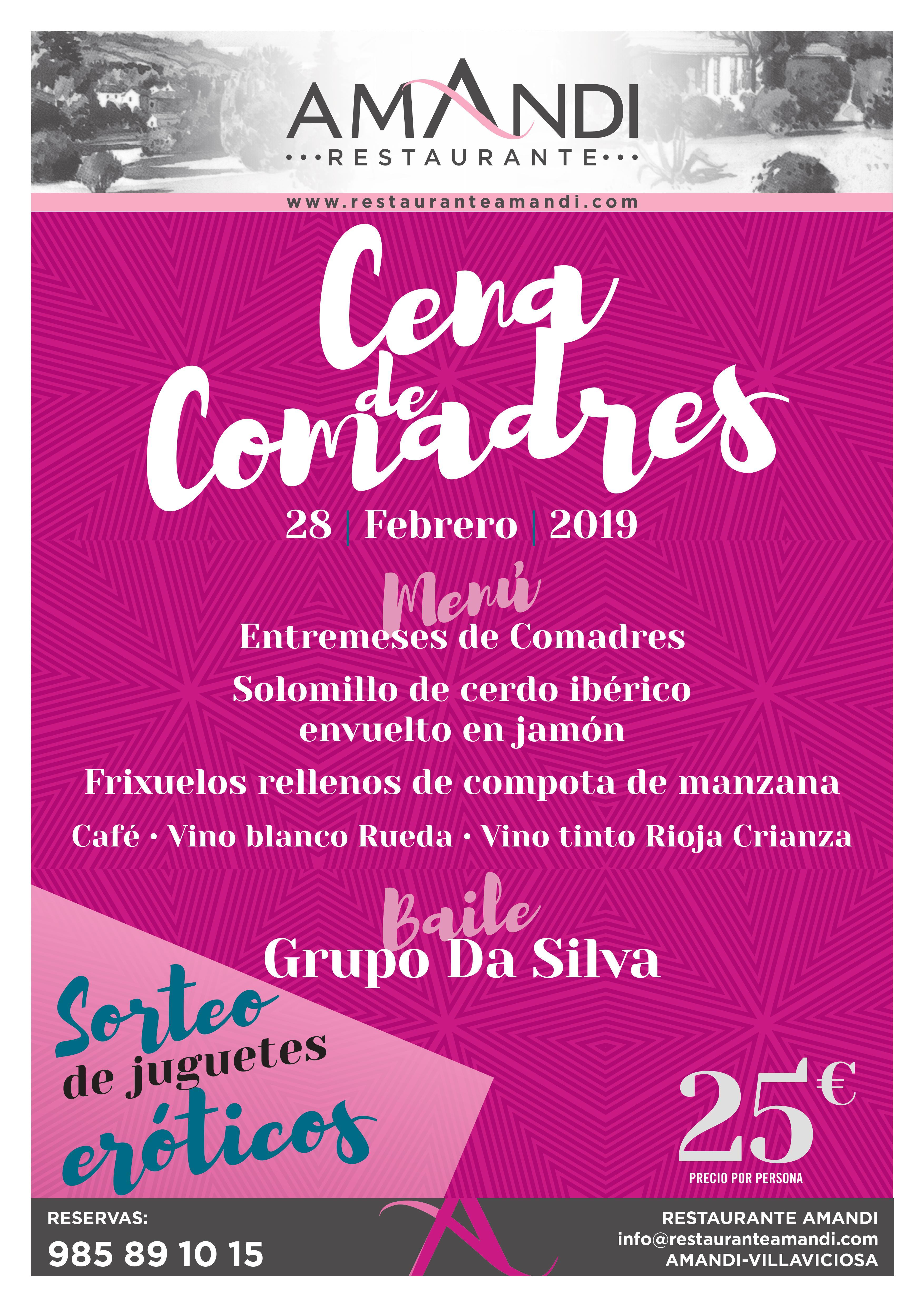 CENA COMADRES 2019